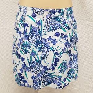 St. John's Bay Skort Shorts Skirt sz 14 Mid-Rise